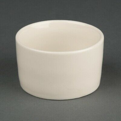 Olympia Ivory Contemporary Ramekins 70mm (Pack of 12) (Next working day to UK)
