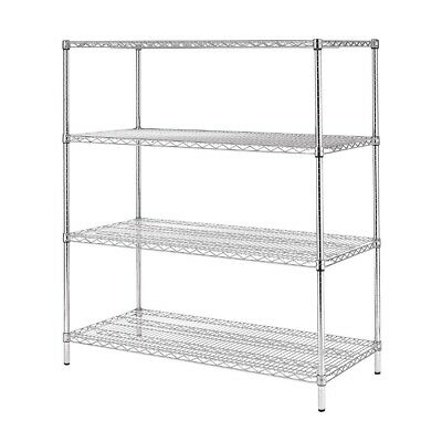 Vogue 4 Tier Wire Shelving Kit 1830x610mm (Next working day UK Delivery)