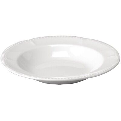 Churchill Buckingham White Pasta Plates 280mm (Pack of 12)
