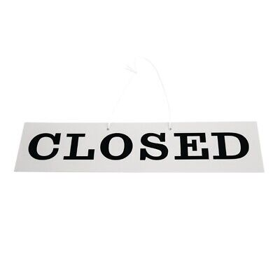 Reversible Hanging Open And Closed Sign (Next working day UK Delivery)
