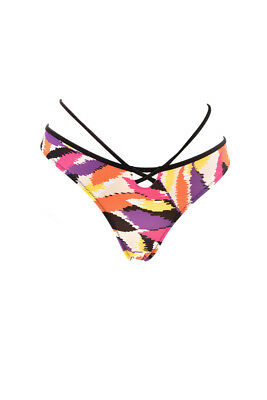 832b92d163 L Agent by Agent Provocateur Women s Printed Bikini Brief Multi M RRP£40  BCF87