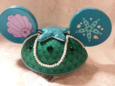 Disney Parks, Ariel Mouse Ears Hat, with tags. From The Little Mermaid