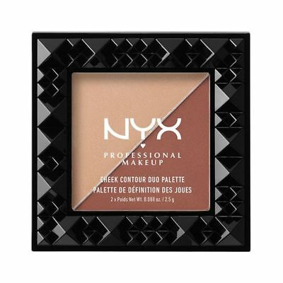 NYX Cheek Contour Duo Blush Palette GINGER & PEPPER