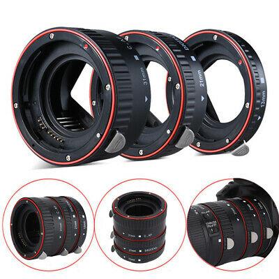 Metal Auto Focus Macro Lens Extension Tube Ring Adapter for Canon EOS EF Lens l