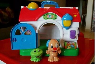 fisher price laugh learn learning house