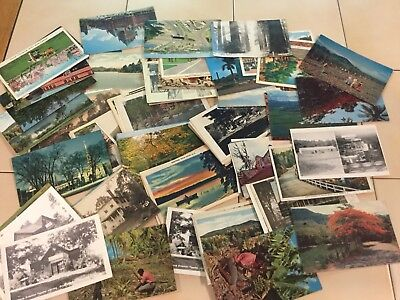 Lot of 80 Vintage Postcards Mixed Lot