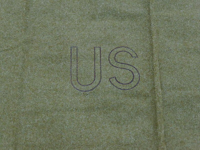 US ARMY M-1934 Wool virgin Blanket OD Depot Wolldecke  Decke 1,7 x 2,2 TOP!