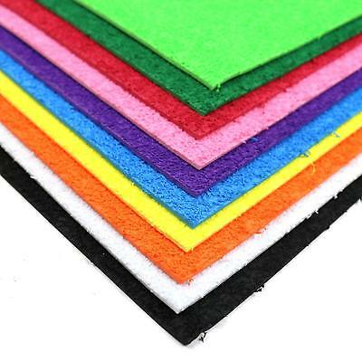 Dovecraft Junior A4 Creative Plushie Foam 10 Sheet Multipack - Rainbow Colours