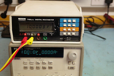 HP Agilent E3632A bench test Linear power supply 120W, 30V 4A and 15V 7A