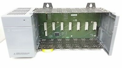 Allen-Bradley 1746-P2 / 1746-A7 SLC500 Powere Supply and Rack