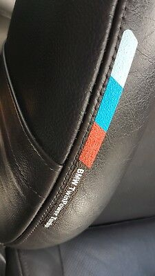 BMW M Power Sport Performance Sticker Badge Decals For Seats | Headrest | Mats