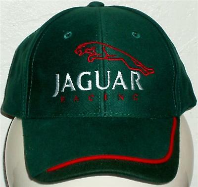 Unisex Baseball Cap with Embroidered Jaguar Racing Car Logo