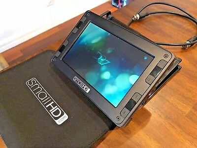 FLAWLESS SMALLHD DP7 PRO LCD On-CAMERA MONITOR with CANON BATTERY BACKPLATE +