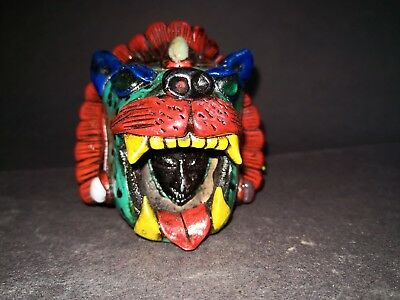 Growling Tiger Noise Ocarina Flute Whistle Mexican Native Percussion Instrument
