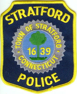 Stratford Police Patch Connecticut CT NEW !!!