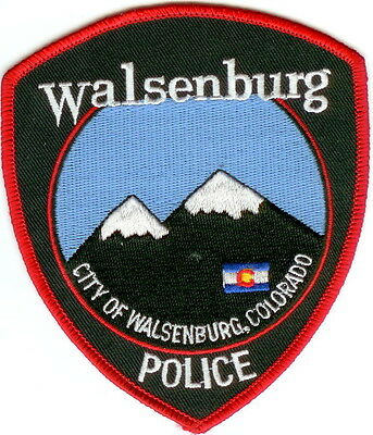 Walsenburg Police Patch Colorado CO NEW!!