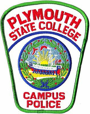 Plymouth State College Campus Police Patch New Hampshire NH NEW!!
