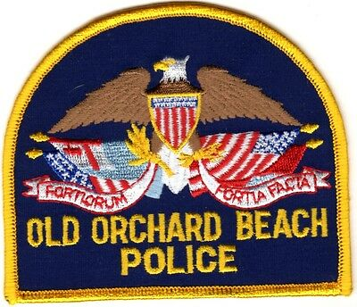 Old Orchard Beach Police Maine ME Police Patch NEW