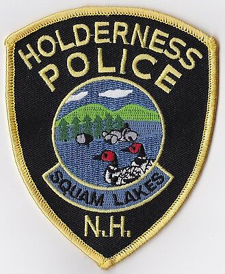 Holderness Police Patch New Hampshire NH NEW!!