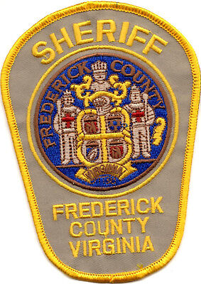 Frederick County Sheriff Virginia VA patch NEW