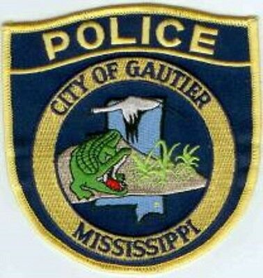 City of Gautier Police Patch Mississippi MS NEW!!