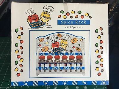 Rare M&M Spice Rack NIB - Not Lazy Susan Type - Won't find another like this one