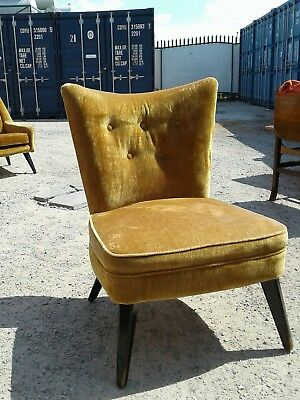 lovely original mid century nursing chair