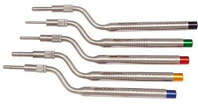 Suits Lift Osteotomes Kit Straight Off Set Concave Dental Implant Instrument