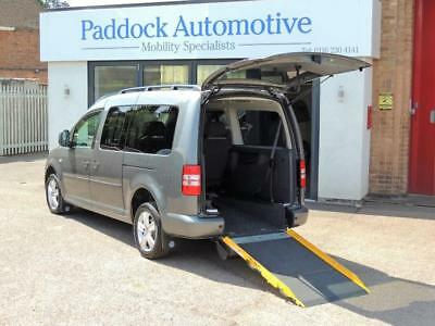 VW Caddy Maxi Life 1.6 Disabled Wheelchair Adapted Vehicle WAV