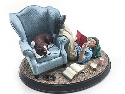 Norman Rockwell's Age of Wonder School Days Figurine 1991 NEW in Box