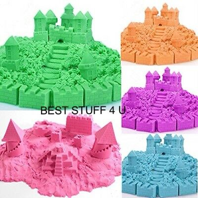Magic Motion Moving Crazy Play Kinetic Sand Colour Grit Building Active Formula