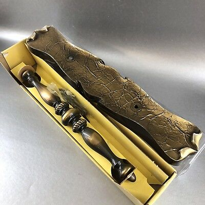 NEW Amerock Carriage House Antique Brass Front Entrance Door Handle Pull Vintage