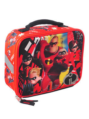 Disney Incredibles 2 Insulated Lunchbox - red, one size