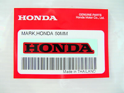 ORIGINAL Honda Aufkleber-Schriftzug-5,2cm-Sticker-Logo-Windscreen-Decal-Center