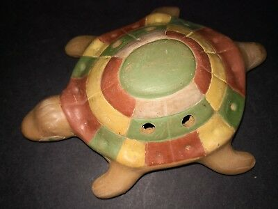 X Large Turtle Ocarina Flute Whistle Mexican Ethnic Latin Percussion Instrument