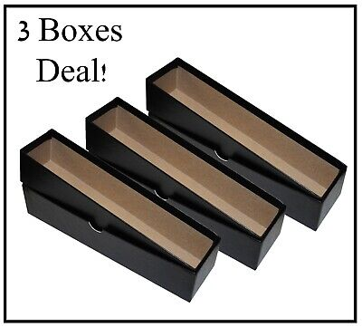 Lot of 3 2x2 Heavy Duty Coin Boxes Hold Flips and Snaplock Holders Storage Case