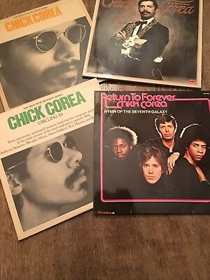 Chick Corea 7x LP Album Vinyl DoLP Circling In Return To Forever The Blue Note..