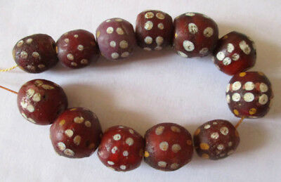 Alte venezian. Glasperlen, Augenperlen, Old Venetian Trade Beads, Eye Beads