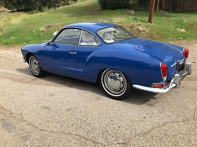 1971 Volkswagen Karmann Ghia One Owner California Car 1971 Volkswagen Karmann Ghia One Owner California Car