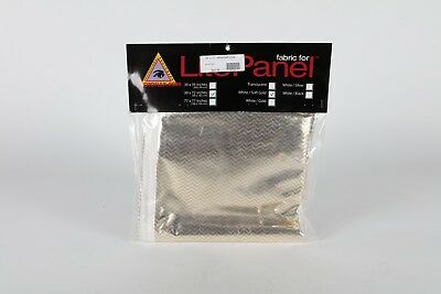 "39""x72"" fabric for Lite Panel - White and Soft Gold - Photoflex"