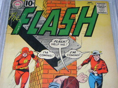 Dc The Flash 123 Cbcs 1.5 Off White Pages Not Cgc Key Issue Golden Age Flash