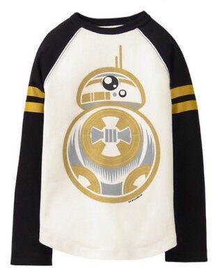 NEW Boys Gymboree Shirt Star Wars BB8 NWT Long Sleeve 2t