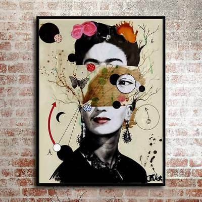 "12""x16""Abstract character 2Painting HD Print on Canvas Home Decor Room Wall Art"