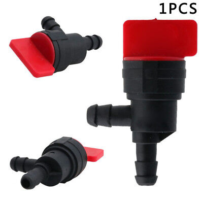 "1/4"" Inline 90 Degree Gas Fuel Shut Cut Off Valves Fits For ATV Mower Bike Parts"