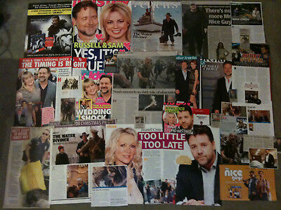 RUSSELL CROWE - Over 20 clippings