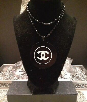Chanel Vip Gift Necklace / With Original Pouch **sale**!