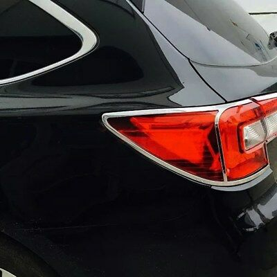 Chrome Rear Tail Light Lamps Cover Trim For Subaru Outback 2015 2016 2017 2018