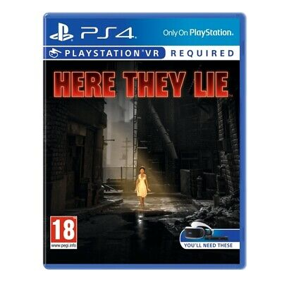 Here They Lie PS4 Game (PSVR Required) | PlayStation 4 - New Game
