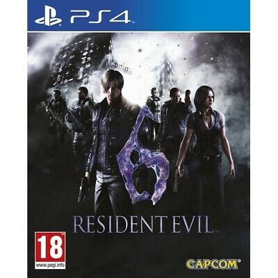 Resident Evil 6 PS4 Game |  - New Game