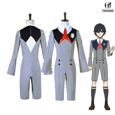 DARLING in the FRANXX CODE 016 HIRO Outfit Jumpsuit Uniform Cosplay Costume1